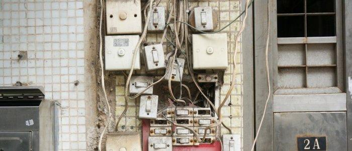 Instalatia electrica   Intrerupatoare si prize defecte