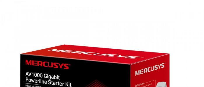 MP500 KIT adaptor Powerline Gigabit pentru transmisii super-rapide, performante si stabile, la un pret accesibil
