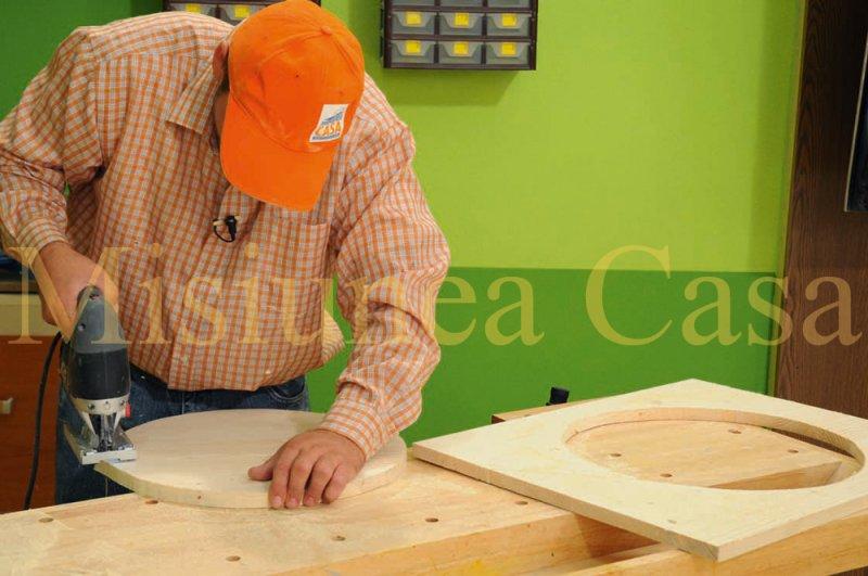 Finisare placi lemn