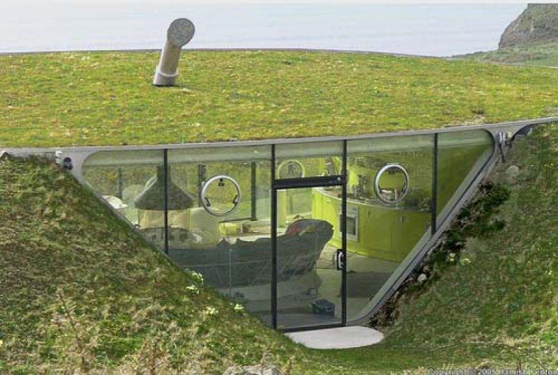 Casa subterana