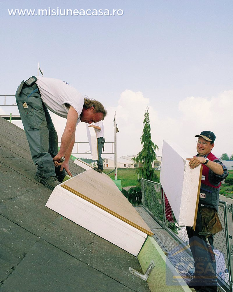 Termoizolare acoperis