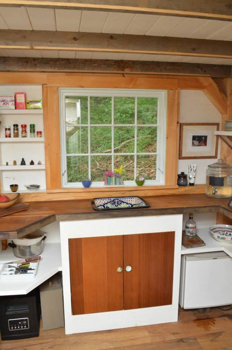 Bucatarie casa din lemn