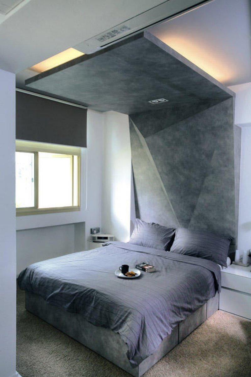 Tavan din tablia patului