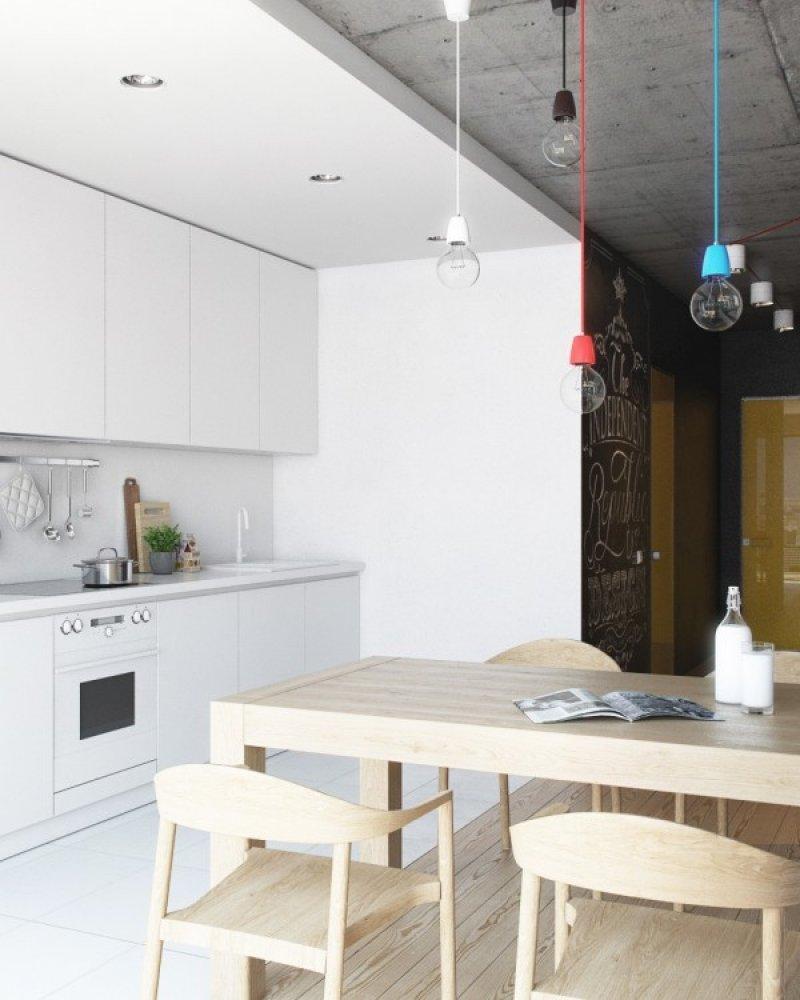 Bucatarie - design interior creativ