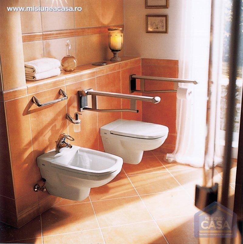 WC-uri suspendate