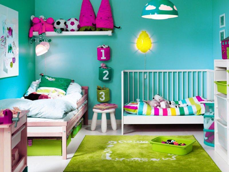 Idei de decorare unisex a camerei copiilor