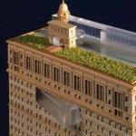 Apartament pe acoperisul cladirii