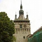 Turnul cu ceas - poarta cetatii Sighisoarei