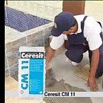 Adeziv Ceresit CM 11 - aplicare