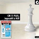 Ceresit CM 11 PLUS, impecabil si ALB