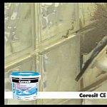 Chituire perete caramida din sticla