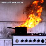 Cum ne comportam in cazul unui incendiu in bucatarie