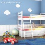 Idei pentru amenajarea dormitorului unui baietel