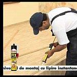Montare coltare din lemn