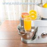 3 avantaje ale storcatorului de fructe si legume prin presare la rece