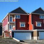Amplasarea casei pe teren in regim cuplat
