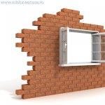 Amplasarea ferestrelor in golurile de zidarie
