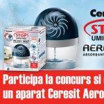 Castiga si scapa de umiditate cu Ceresit AERO 360º
