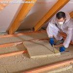 Cu ce material iti poti izola podul casei