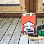 Cum cureti vopseaua de pe lemn