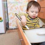 Cum sa transformi bucataria intr-un loc sigur pentru copiii tai