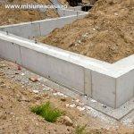 Fundatia casei (partea 1) – tipuri de fundatie, dimensiunea si adancimea fundatiei