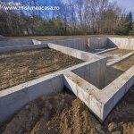 Fundatia casei (partea a 2-a) – Saparea si turnarea fundatiei