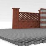 Gardul din boltari spalati: Sfaturi complete de construire