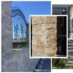 Gardul din piatra naturala: patru idei spectaculoase