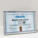 MCA Grup a primit Trofeul Euro-Fereastra 2014 la categoria Uşi de garaj & Sisteme de umbrire