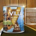 Policolor lanseaza lacul lucios pe baza de apa Spor Villa Yacht 3 in 1