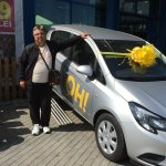 Praktiker România a oferit primul Opel Corsa în campania aniversară de 13 ani