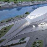 Rabat Grand Theatre din Maroc, proiect arhitectural de referinta