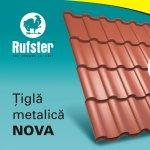 Rufster lanseaza Nova, un nou model de tigla metalica
