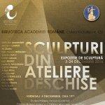 """""""Sculpturi din Ateliere Deschise"""" - Un eveniment Contemporanii la Biblioteca Academiei Romane"""