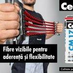 "Adezivii flexibili Ceresit – tehnologie revolutionara ""FIBRE FORCE"""