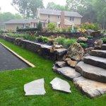 Amenajarea curtii cu piatra naturala