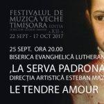 Ansamblul Le Tendre Amour, in concert la Festivalul de Muzica Veche de la Timisoara, sustinut de Roca