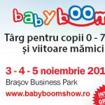 Baby Boom Show ajunge la Brasov intre 3 si 5 Noiembrie 2017, in Brasov Business Park