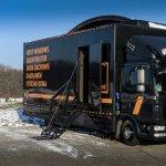 Camionul Dakea, in vizita pentru prima data in Romania