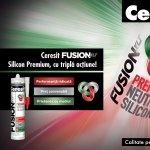 Ceresit Fusion: Un singur silicon pentru toate lucrarile