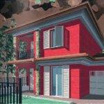 Constructii din materiale alternative: casa din caramizi de polipropilena