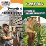 Cultivarea legumelor si a plantelor aromatice, protectia si vopsirea lemnului, proiectele lunii aprilie la HORNBACH