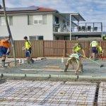 Fundatia casei (III) – Turnarea placii la nivelul zero