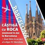 Inca sase zile de inscriere in competitia organizata de Roca Romania, care te duce la un meci al echipei FC Barcelona