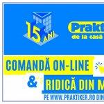 "Magazinul online Praktiker Romania lanseaza serviciul ""Comanda online si ridica din magazin"""