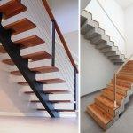 Metal sau beton? Ce structura este cea mai potrivita pentru scara interioara