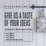 PIATRAONLINE lanseaza competitia FoodRocks, dedicata designului de obiect de bucatarie