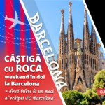 Roca isi aniverseaza centenarul oferind o experienta memorabila la Barcelona: weekend in doi + doua bilete la un meci al echipei FC Barcelona
