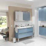 Solutii modulare pentru o baie cu personalitate, disponibile in magazinele Brico Depot si Praktiker